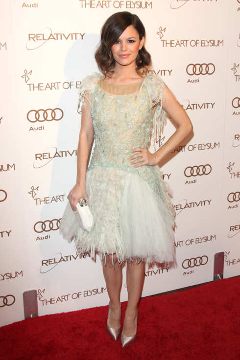 Rachel Bilson at the Art of Elysium Heaven Gala at Union Station, LA.