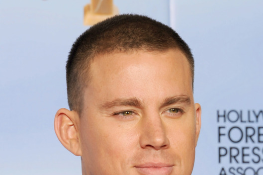 BEVERLY HILLS, CA - JANUARY 15:  Actor Channing Tatum poses in the press room at the 69th Annual Golden Globe Awards held at the Beverly Hilton Hotel on January 15, 2012 in Beverly Hills, California.  (Photo by Kevin Winter/Getty Images)
