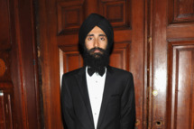 Designer/actor Waris Ahluwalia attends the celebration of the global launch of the 2012 Pirelli Calendar