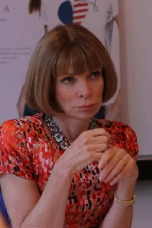 Anna Wintour-Making The Cut