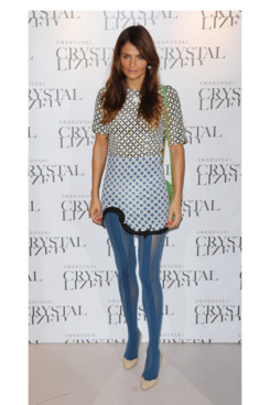 Helena Christensen attends the Swarovski Crystallized Unsigned Model Search Event