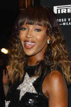 Naomi Campbell attends the 'Pirelli Corso Venezia' flagship store opening on September 20, 2011 in Milan, Italy.