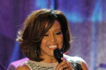 BEVERLY HILLS, CA - FEBRUARY 12:  Singer Whitney Houston performs onstage at the 2011 Pre-GRAMMY Gala and Salute To Industry Icons Honoring David Geffen at Beverly Hilton on February 12, 2011 in Beverly Hills, California.  (Photo by Jeff Kravitz/FilmMagic) *** Local Caption *** Whitney Houston
