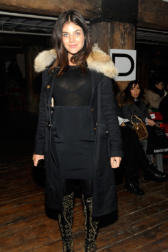 Julia Restoin Roitfeld attends the Altuzarra Fall 2012 fashion show
