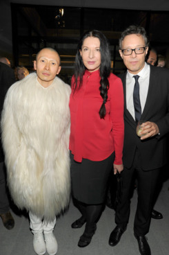 Terrence Koh, Marina Abramovic, Marco Brambilla== COSTUME== Private Residence, NYC== February 12, 2012==