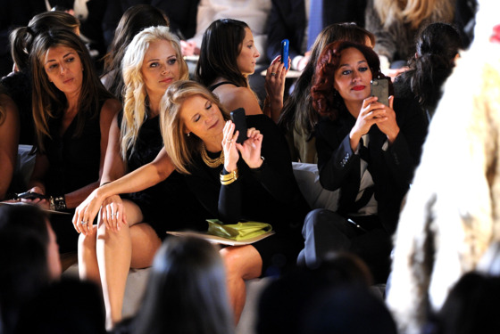 a 560x375 Hot Shot: Katie Couric Sees Something Cool at Michael Kors