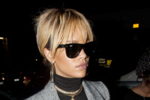 LONDON, UNITED KINGDOM - FEBRUARY 22: Rihanna sighting on February 22, 2012 in London, England. (Photo by Niki Nikolova/FilmMagic)