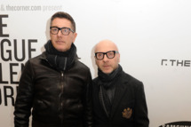 Designers Stefano Gabbana and Domenico Dolce attend The Vogue Talents Corner