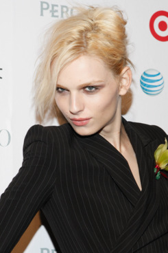 Model Andrej Pejic attends 2011 OUT100 at the Skylight SOHO on November 17, 2011 in New York City.