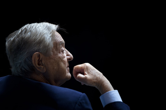"George Soros, Chairman of Soros Fund Management, listens during a seminar titled ""Charting A New Growth Path for the Euro Zone"" at the annual International Monetary Fund and World Bank meetings September 24, 2011 in Washington, DC."