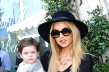 Celebrity stylist Rachel Zoe and her son Skyler Morrison Berman attend John Varvatos 9th Annual Stuart House Benefit