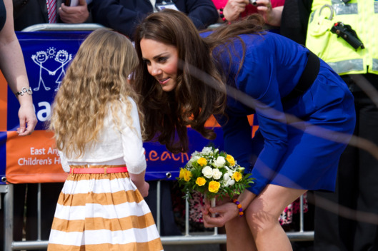 IPSWICH, ENGLAND - MARCH 19:  Catherine, Duchess of Cambridge arrives to officially open The Treehouse Children's Hospice on March 19, 2012 in Ipswich, England. (Photo by Ian Gavan/Getty Images)