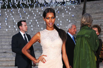 Jessica White attends the 2012 Tribeca Film Festival at the State Supreme Courthouse on April 17, 2012 in New York City.