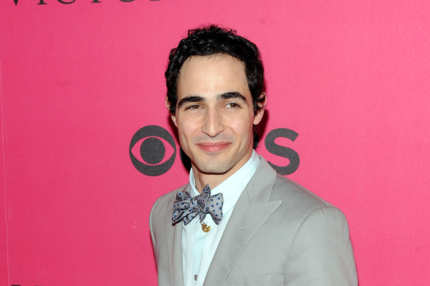 Zac Posen arrives for the 2010 Victoria's Secret Fashion Show at the Lexington Avenue Armory on November 10, 2010 in New York City.