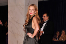 Lindsay Lohan attends the 98th Annual White House Correspondents' Association Dinner