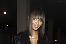 MIAMI, FL - DECEMBER 02: Naomi Campbell attends a private cocktail and dinner party