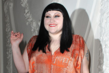 Beth Ditto attends the Jean Paul Gaultier Spring/Summer 2012 Haute-Couture Show as part of Paris Fashion Week on January 25, 2012 in Paris, France.