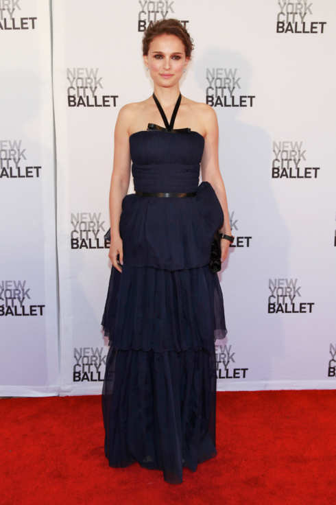 NEW YORK, NY - MAY 10:  Actress Natalie Portman attends the New York City Ballet's Spring Gala