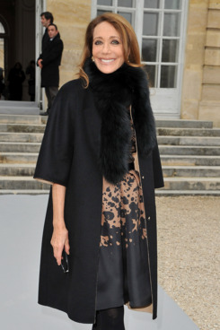 PARIS, FRANCE - MARCH 02:  Marisa Berenson attends the Christian Dior Ready-To-Wear Fall/Winter 2012 show as part of Paris Fashion Week
