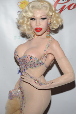 NEW YORK, NY - MARCH 31:  Amanda Lepore attends the 26th annual Night Of A Thousand Gowns