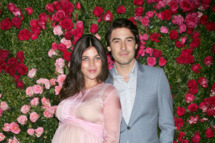 NEW YORK, NY - APRIL 24:  Julia Restoin-Roitfeld and Robert Konjic attend the 7th Annual Chanel Tribeca Film Festival Artists Dinner at The Odeon on April 24, 2012 in New York City.  (Photo by Jim Spellman/WireImage)
