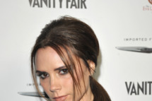 HOLLYWOOD, CA - FEBRUARY 23:  Designer Victoria Beckham attends the Vanity Fair and Chrysler celebration of The Eva Longoria Foundation hosted by Eva Longoria on Thursday, February 23 at Beso Hollywood.  (Photo by John Shearer/Getty Images for VF)