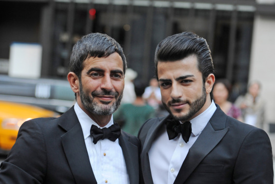 Marc Jacobs brought Harry Louis, his reported Brazilian porn star boyfriend, ...