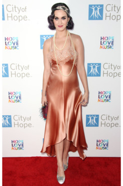 Recording artist Katy Perry attends the City of Hope's Music And Entertainment Industry Group Honors Bob Pittman at The Geffen Contemporary at MOCA on June 12, 2012 in Los Angeles, California.