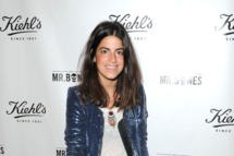 "Leandra Medine attends the Kiehl's ""Meet Mr. Bones"" Unveiling Party at The Gold Bar on May 16, 2012 in New York City."