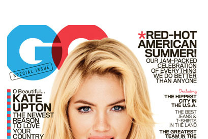Guess What Kate Upton Is Wearing On Her Gq Cover The Cut