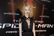 "Emma Stone attends ""The Amazing Spider Man"" Paris Premiere at Le Grand Rex on June 19, 2012 in Paris, France."