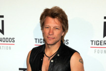 Recording artist Jon Bon Jovi appears at Tiger Jam 2012 at the Mandalay Bay Events Center April 28, 2012 in Las Vegas, Nevada.