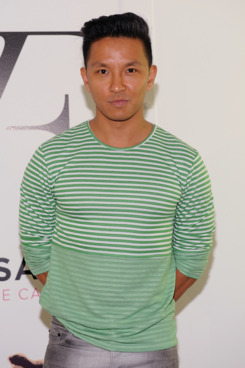 "Prabal Gurung attends ""The Conversation Launch Celebration at DVF Studio on May 6, 2012 in New York City."