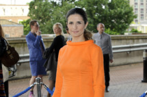 Livia Firth attends the Graduate Fashion Week 2012 Gala Show at Earls Court 2 on June 13, 2012 in London, England.