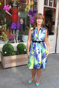 "Chief Creative Designer Deborah Lloyd attends an ""Exclusive Afternoon Tea Party at 'Kate Spade New York' Store"" in Sloane Square on May 23, 2012 in London, England."