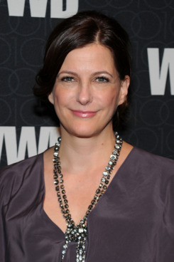 WWD Executive Editor Bridget Foley attends the Women's Wear Daily 100 Anniversary Gala at Cipriani 42nd Street on November 2, 2010 in New York City.