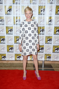 "Actress Michelle Williams attends Walt Disney Studios: ""Frankenweenie,"" ""Wreck It Ralph"" and ""Oz"" during Comic-Con International 2012 held at the Hilton San Diego Bayfront Hotel on July 13, 2012 in San Diego, California."