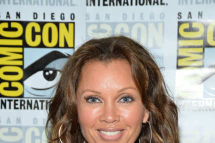 "Actress Vanessa Williams attends the ""666 Park Avenue"" Press Room during Comic-Con International 2012 held at the Hilton San Diego Bayfront Hotel on July 13, 2012 in San Diego, California."