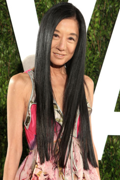 Designer Vera Wang attends the 2012 Vanity Fair Oscar Party Hosted By Graydon Carter at Sunset Tower on February 26, 2012 in West Hollywood, California.