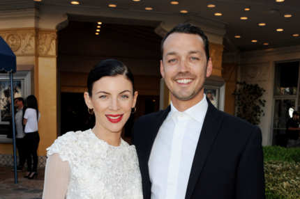 "Actress Liberty Ross (L) and her husband director Rupert Sanders arrive at a screening of Universal Pictures' ""Snow White and The Huntsman"" at the Village Theatre on May 29, 2012 in Los Angeles, California."
