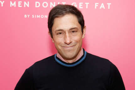 "Designer Jonathan Adler attends the ""Gay Men Don't Get Fat"" booksigning at Barneys New York on January 7, 2012 in New York City."