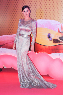 "Singer Katy Perry looks great at her new movie premiere ""Part of Me"" in Rio de Janeiro, Brazil."