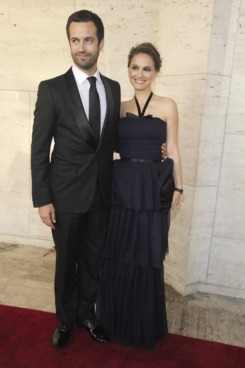 Benjamin Millepied and Natalie Portman attends the New York City Ballet's Spring Gala at the David H. Koch Theater, Lincoln Center on May 10, 2012 in New York City.