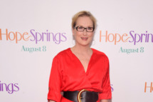 "Meryl Streep attends the ""Hope Springs"" premiere at the SVA Theater on August 6, 2012 in New York City."