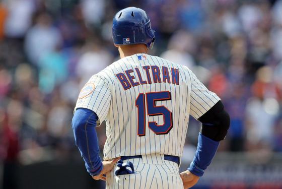 Carlos Beltran of the New York Mets.