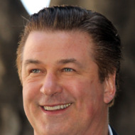 HOLLYWOOD, CA - FEBRUARY 14: Actor Alec Baldwin poses for phographers during installation ceremonies for his star on the Hollywood Walk of Fame on February 14, 2011 in Hollywood, California.  (Photo by Frederick M. Brown/Getty Images)