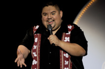 SACRAMENTO, CA - JANUARY 31: Gabriel Iglesias performs as part of The Fluffy Shop Tour at the Crest Theater on January 31, 2010 in Sacramento, California. (Photo by Tim Mosenfelder/Getty Images) *** Local Caption *** Gabriel Iglesias