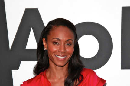 NEW YORK, NY - JUNE 14:  Actress Jada Pinkett-Smith visits the AOL Studios In New York on June 14, 2011 in New York City.  (Photo by Charles Eshelman/Getty Images for AOL)