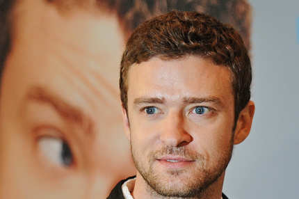 "US actor Justin Timberlake poses during a photocall for the movie ""Friends With Benefits"" by US director Will Gluck at the Adlon Hotel in Berlin on July 29, 2011. AFP PHOTO / PATRIK STOLLARZ (Photo credit should read PATRIK STOLLARZ/AFP/Getty Images)"