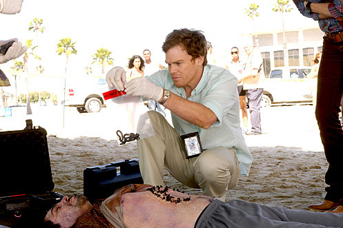 Michael C. Hall as Dexter (Season 6, episode 1) - Photo: Randy Tepper/Showtime - Photo ID: dexter_601_2308